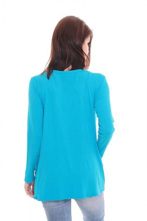 Кардиган А5775 Размеры: 44-54 Цвет: голубой Цена: 300 руб.  http://optom24.ru/kardigan-a5775/  #одежда #женщинам #кардиганы #оптом24