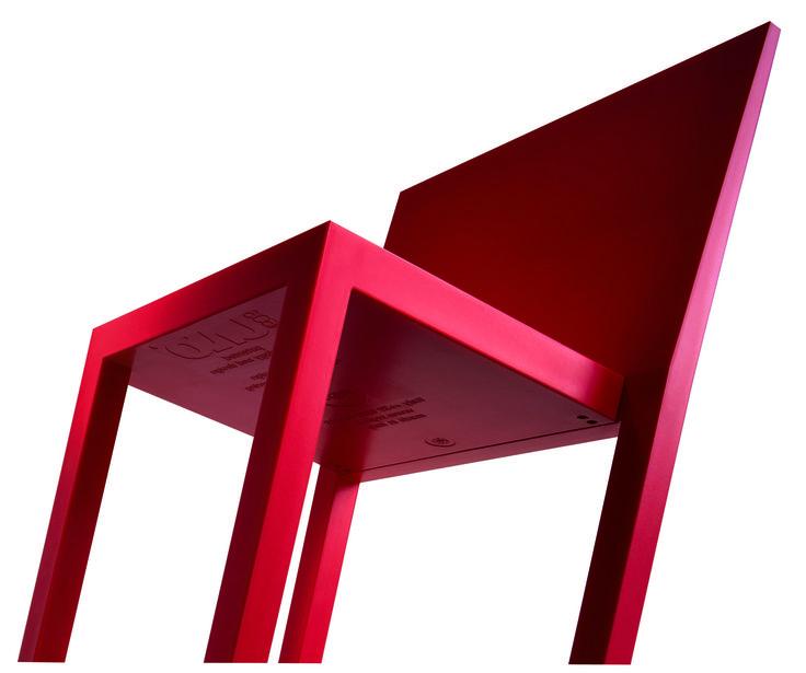 R606Uno chiar by Bartoli Design & Fauciglietti Engineering for Segis, XXI Compasso d'Oro ADI  Find more details on: http://www.segis.it/en/products/Uno/  #minimalchair #BartoliDesign #Segis #design #designaward #compassodoro