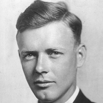 Born on February 4, 1902, in Detroit, Michigan, Charles Lindbergh completed the first solo transatlantic flight in his plane Spirit of St. Louis.