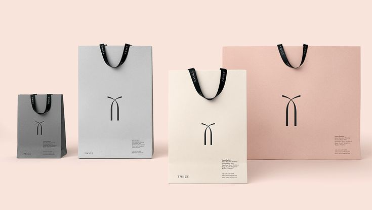 Twice Fashion by @sociodesign http://mindsparklemag.com/design/twice-fashion/ #branding #packaging #fashion
