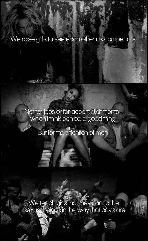 Beyonce Ft. Chimamanda Ngozi Adichie - Flawless Music Video