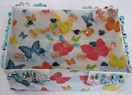 butterflies money box
