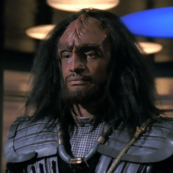 Kurn ( Tony Todd ) Star Trek The Next Generation/Deep Space Nine