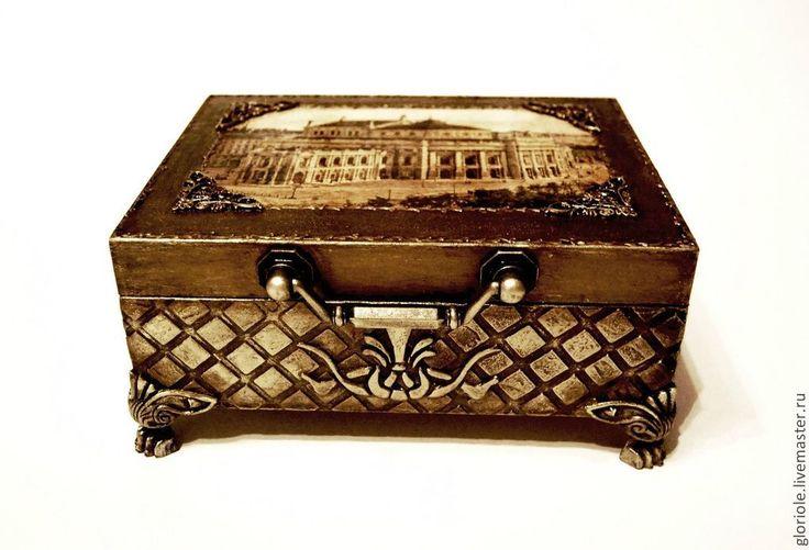 """Купить """"Итальянский театр"""" - золотой, подарки и сувениры, подарки ручной работы, подарок мужчине"""