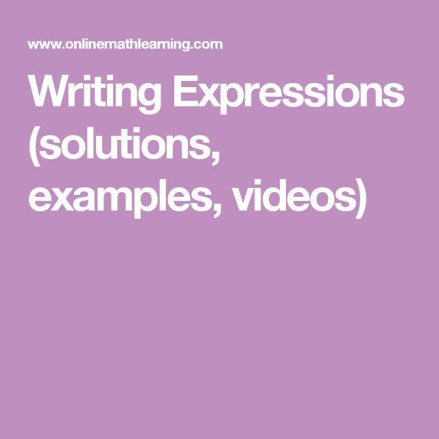 Evaluating Expression Worksheets: