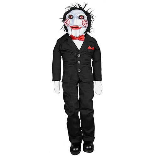 Saw Billy The Jigsaw Puppet 9 Inch Plush Statues Busts
