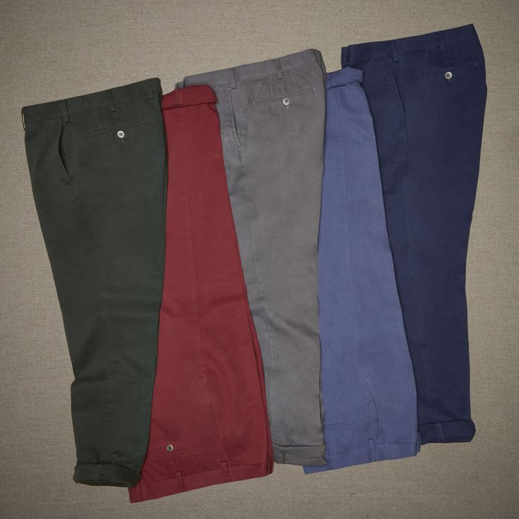 Cotton pickin' good trousers.