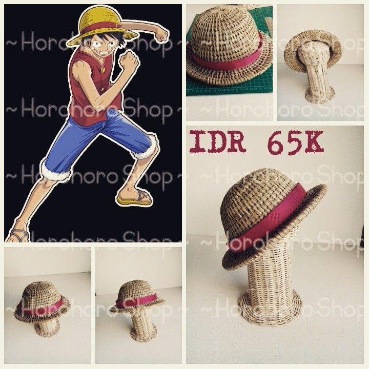 For sale~mugiwara hat~IDR 65K exclude ongkir