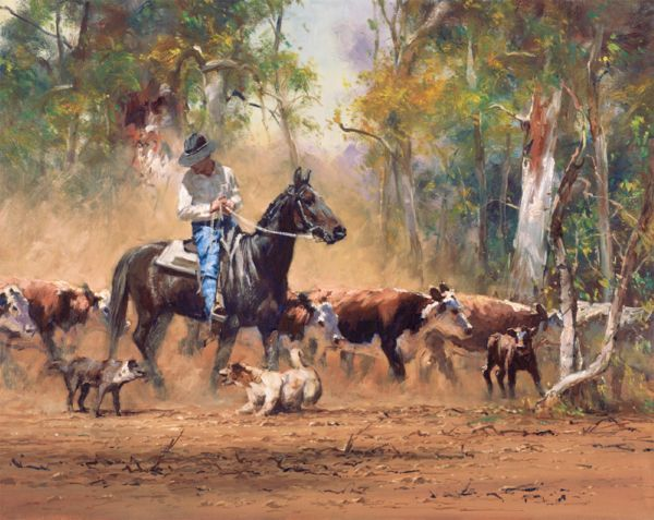 Staffing Problems - by Robert Hagan, Ltd edition canvas print, 66 x 53cm Purchase at Landsborough galleries Product Id: 5033