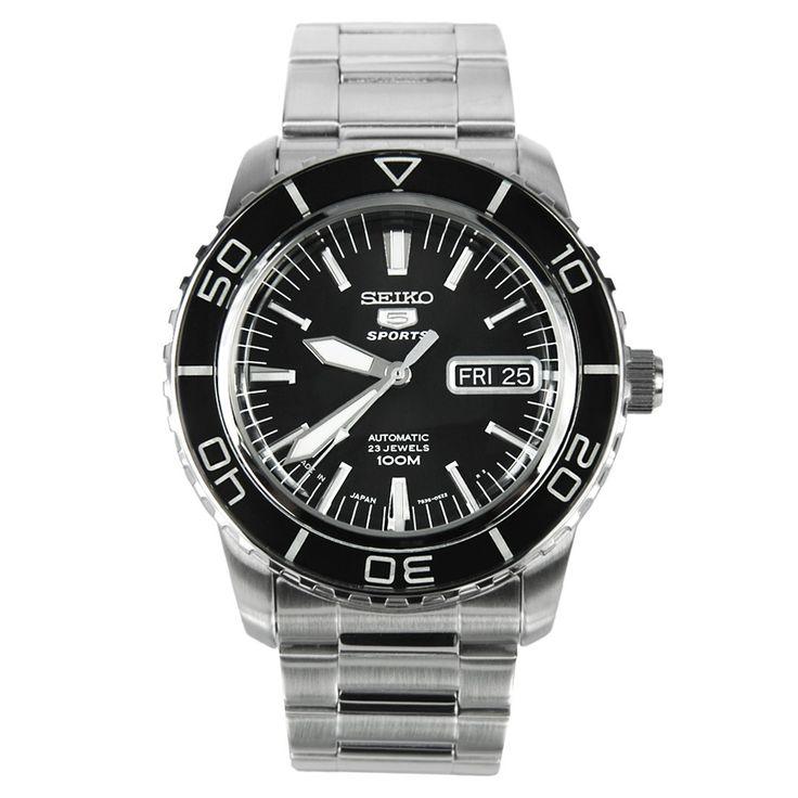 Chronograph-Divers.com - SNZH55J1 Seiko 5 sports Automatic Watch, S$189.35 (http://www.chronograph-divers.com/seiko-snzh55j1/)