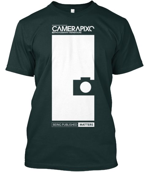 BLACK Camerapixo T-Shirt