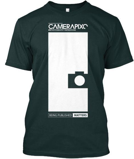BLACK Camerapixo T-Shirt