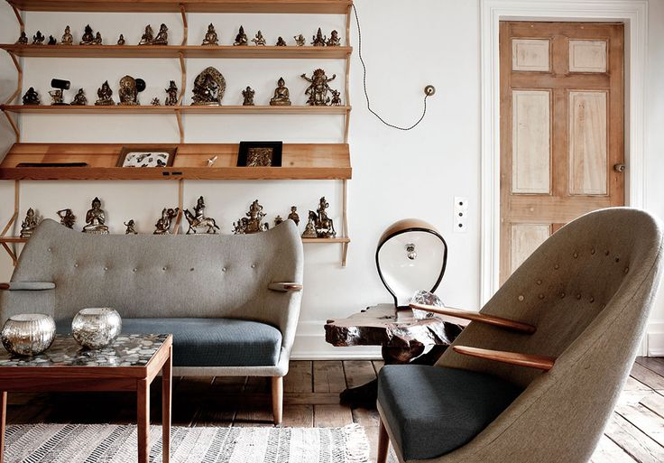 Neutral colors and unique materials set this Belgian apartment apart from the rest.