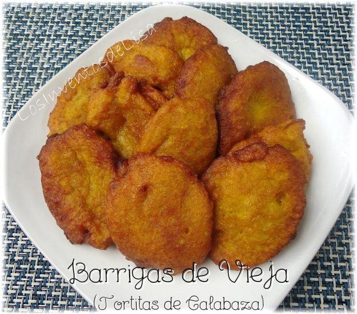 Los Inventos de Lisa: Tortitas de Calabaza (Barrigas de vieja)