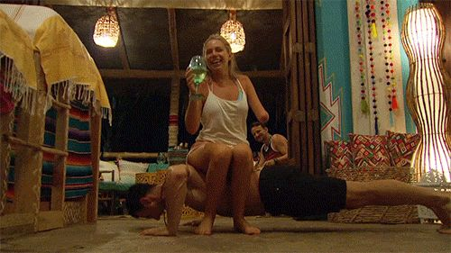 New trendy GIF/ Giphy. episode 4 sarah bachelor in paradise daniel pushup. Let like/ repin/ follow @cutephonecases