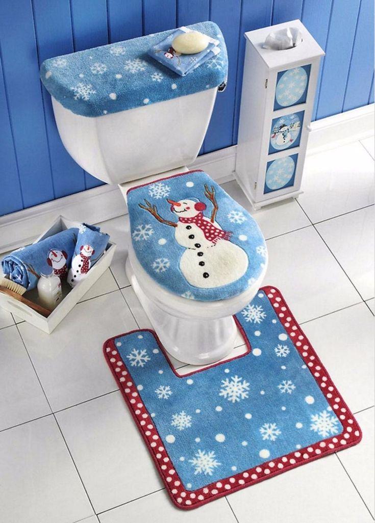Kit Patrones Lenceria Navidad Juegos De Baños Muñecos Arbol - Bs. 200,00 en MercadoLibre
