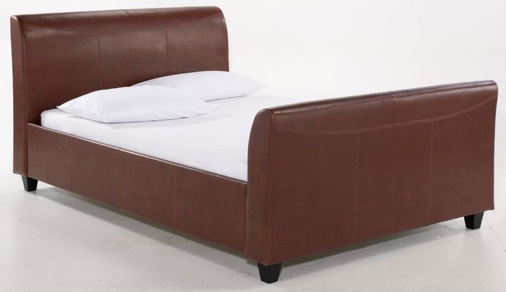 Bonsoni is proud to present this Chapel Double Bed Frame 5ft by Lloyd Phillip & Delric which has Assembled Dimension: 2330 x 1595 x 990. A more premium quality, vintage brown faux leather bed that offers the opportunity to make a bit more margin.  http://www.bonsoni.com/chapel-double-bed-frame-5ft-by-lloyd-phillip-delric