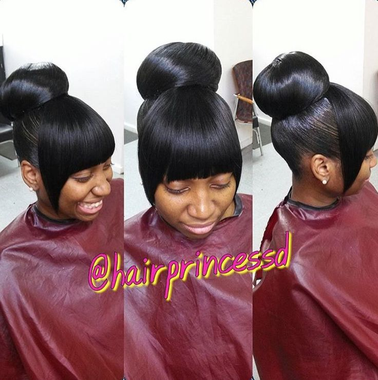 Twist Bun With Chinese Bang 544 Best Images About Updos On