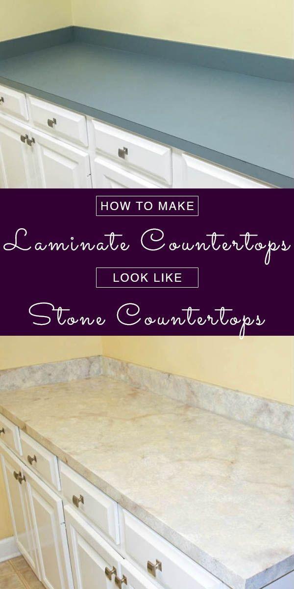 Charmant How To Make Laminate Countertops Look Like Granite | Crafting A Green World  | Bloglovinu0027