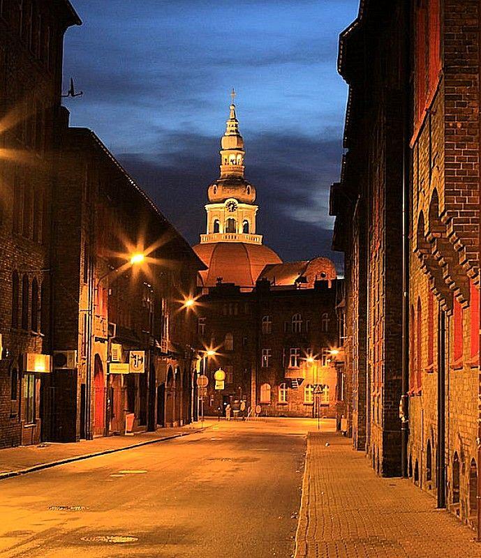 Nikiszowiec, Katowice, Poland  Osiedle Gornicze. Old mining district in Katowice