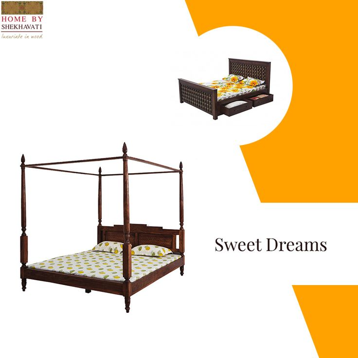 The thing that one really wants after a day of hard work is to relax and what better way to do that other than SLEEP. Make that all the more relaxing with Beds from Home By Shekhavati. These strong and comfortable beds give your bedroom the perfect look and you the perfect place to dream.   To buy these contemporary beds, contact: +91-9414100611.