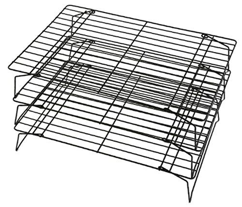 EOZY 3 Stackable Cooling Racks Durable Bread Cooling Rack -- See this great product.