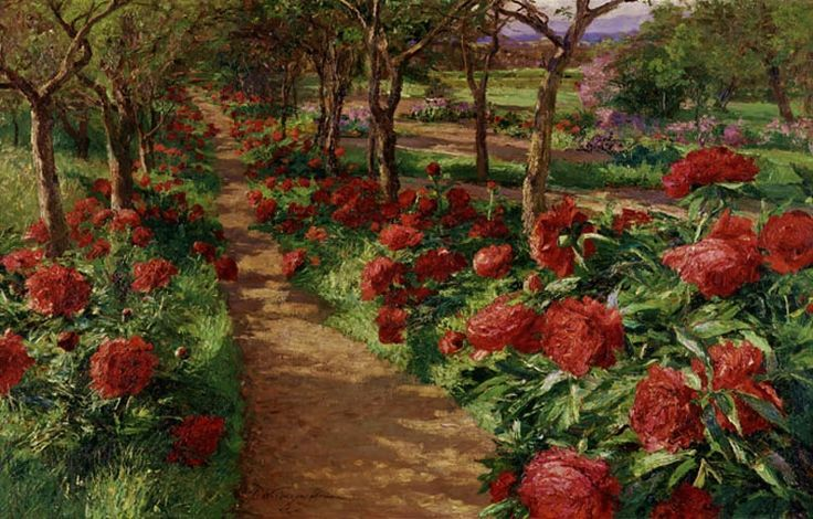 The garden walk... Olga Wisinger-Florian