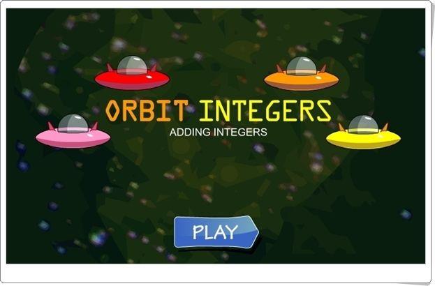 """""""Orbit integers"""" (Juego de suma de números enteros)"""