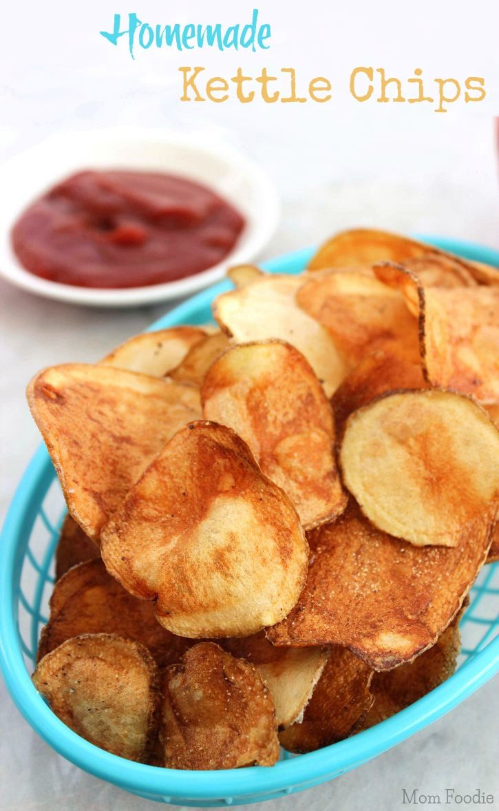 How to Make your own  Kettle Chips