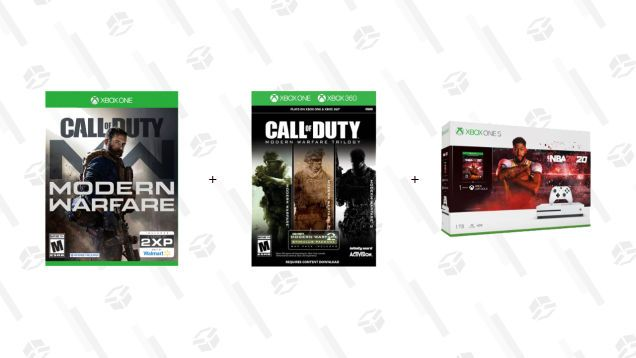 Build Your Own Xbox One S Bundle With Cod Mw Legacy Trilogy And Your Choice Of 5 Games Xbox One S Xbox One Trilogy