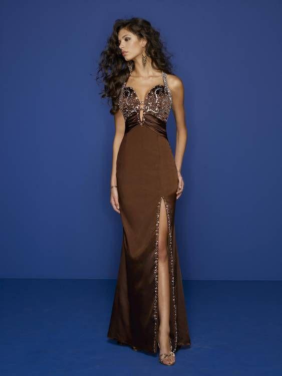 Vestidos catorceveinte.com: Sexy Vestido de Noche Cintura Tipo Imperio 00204725