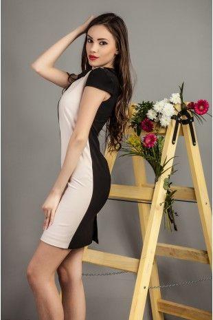 Rochie Elise Neagra- www.zonia.ro