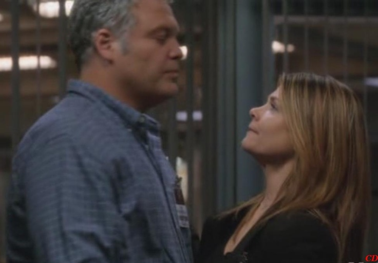 Vincent D'onofrio & Kathryn Erbe in Law and Order: Criminal Intent