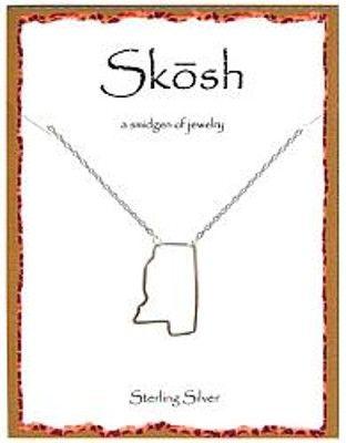skosh mississippi necklace | OLE MISS. :) | Pinterest
