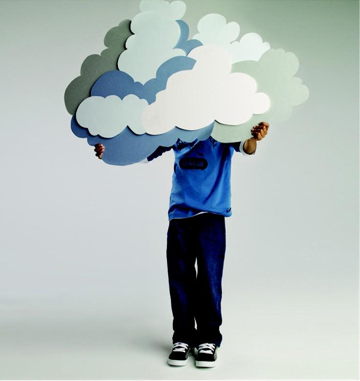 paper clouds by Eloise Corr Danch