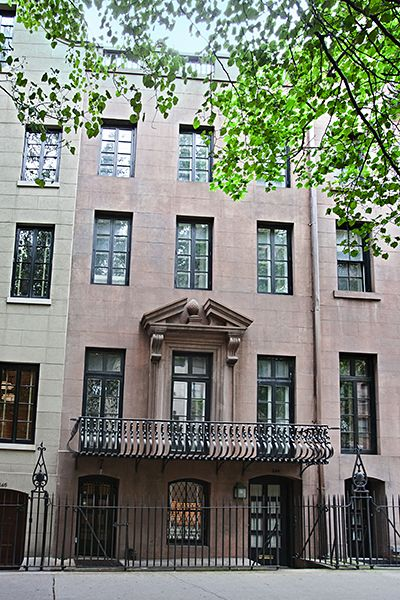 43 best Townhouse Façades in NYC images on Pinterest | Terraced ...
