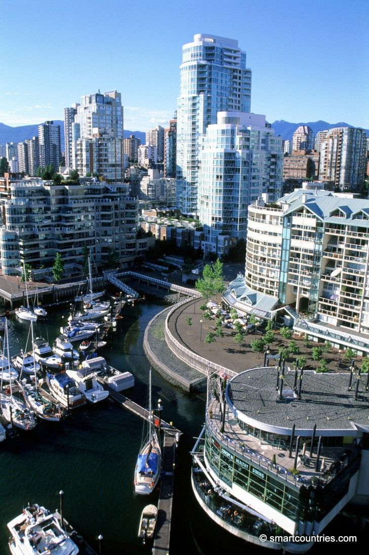 Granville Bridge View, Vancouver, Canada.