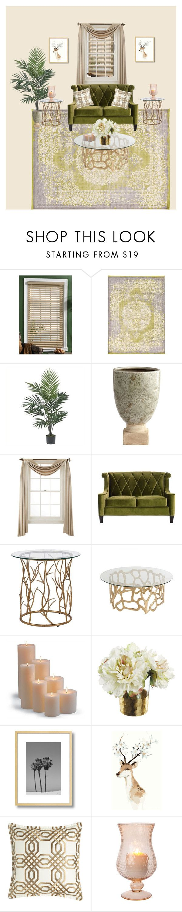 """""""Untitled #1"""" by asas-hady ❤ liked on Polyvore featuring interior, interiors, interior design, home, home decor, interior decorating, Nearly Natural, Liz Claiborne, Frontgate and Isabella Collection"""