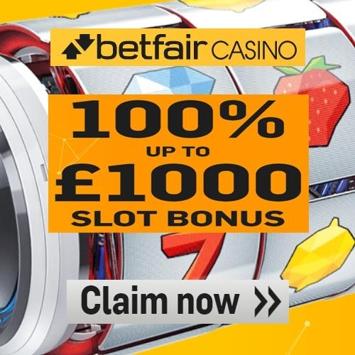 Betfair Casino Promo Code - 100% Up To £/€1000 Casino Bonus Offers