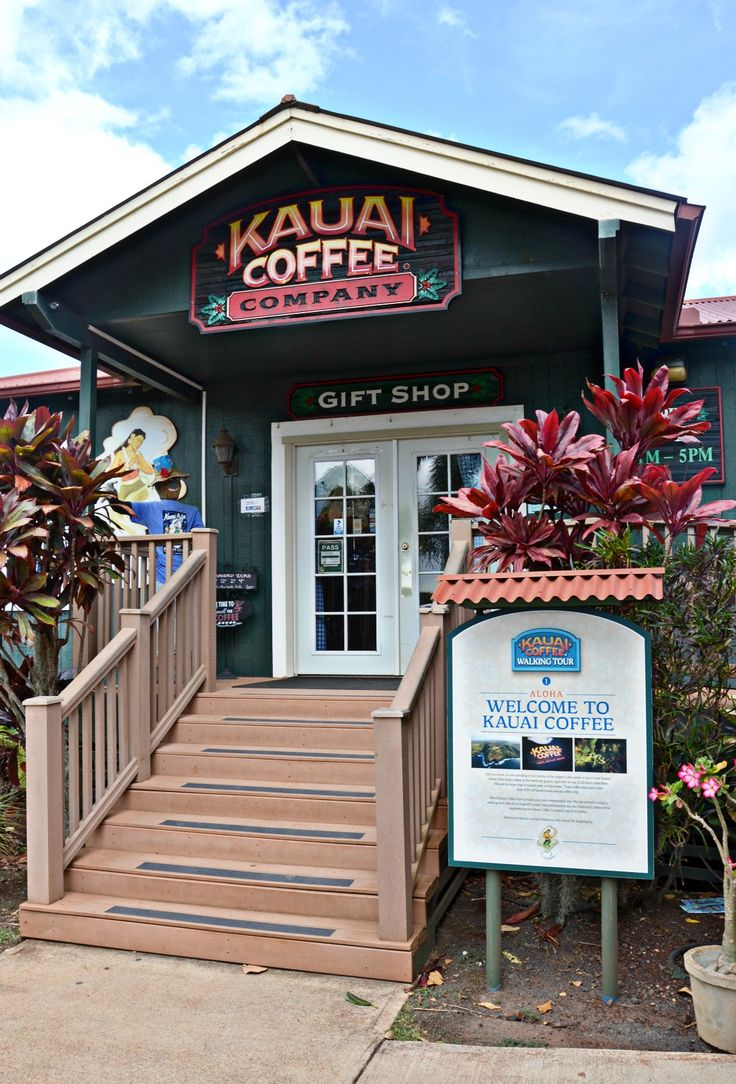 Visit the Kauai Coffee Estate in Kauai, Hawaii to learn about the Kauai Coffee Company and the how coffee is grown and processed for manufacturing.