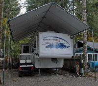 22 best images about portable carport shelters on for Portable rv garage