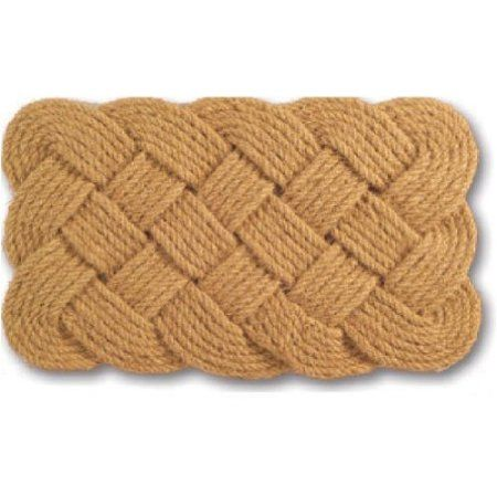 Amazon.com: Imports Decor Natural Rope Jute Door Mat, 30-Inch by 18-Inch: Patio, Lawn & Garden