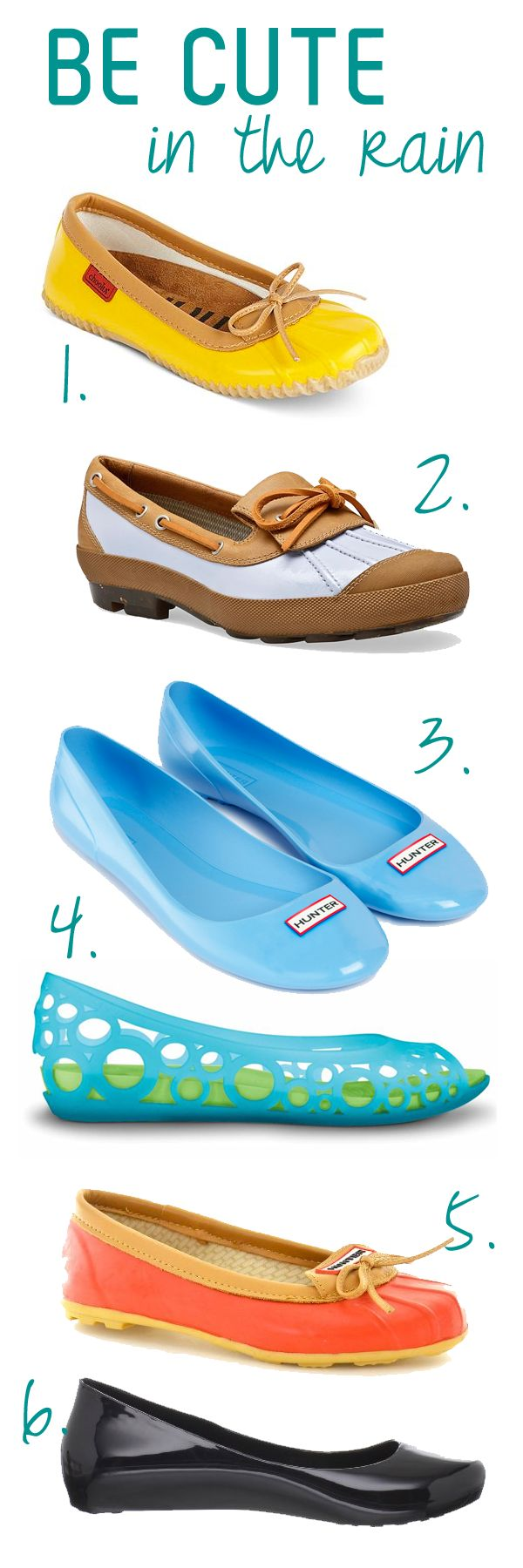 cute rain shoes at all price points