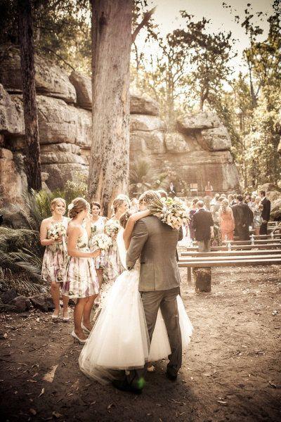 Wedding Ceremony at Kangaroo Valley - photo by Magnus Argen