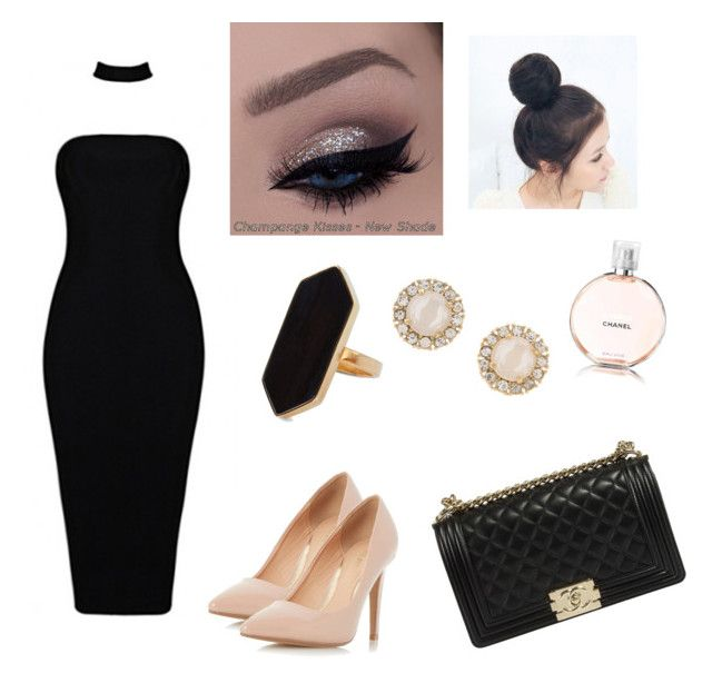 #fashion by ellalidiar on Polyvore featuring polyvore beauty Chanel Kate Spade Jaeger Dorothy Perkins