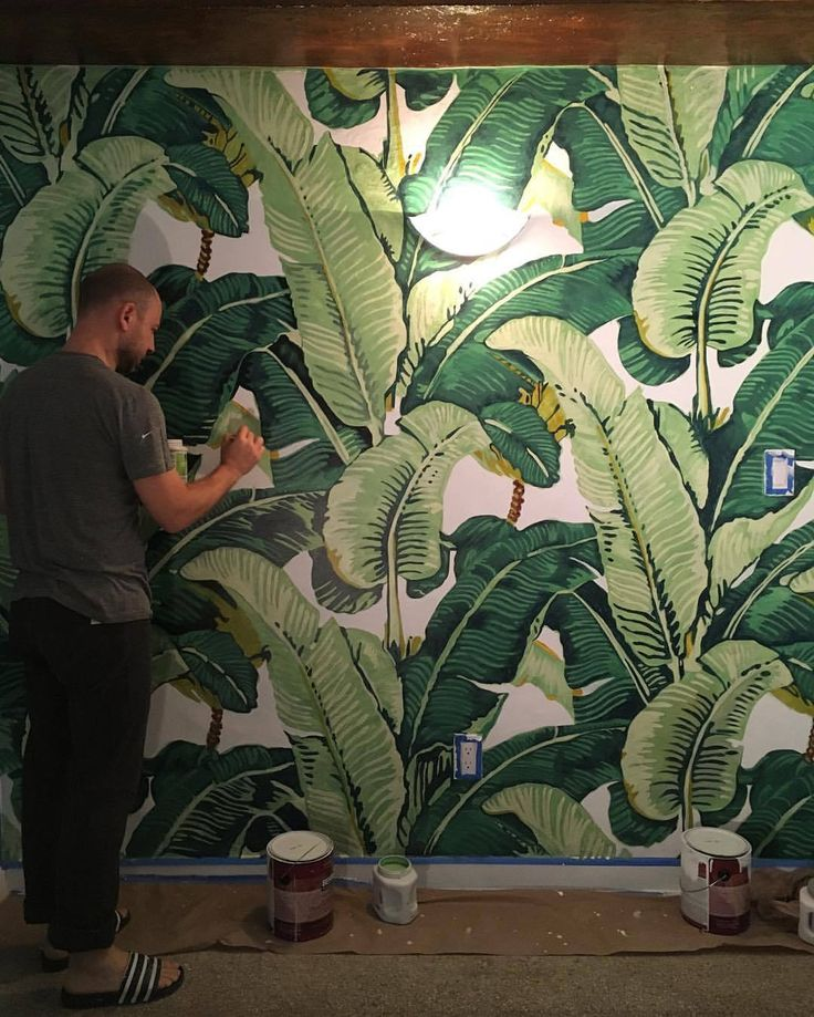Iconic Martinique Wallpaper installation: $2,500+  Painting it yourself instead: $50 worth of paint  Sense of accomplishment: Priceless