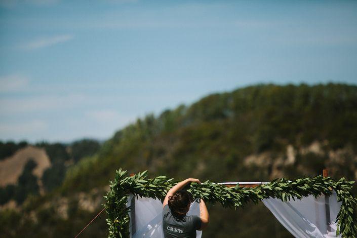 Приключения был Мия и Джонни любви заполнено свадьбы в горах Северной Калифорнии!