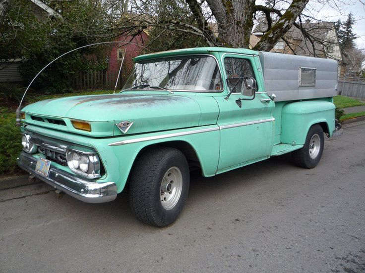 1963 GMC Pickup – The Very Model Of A Modern V6 Truck Engine