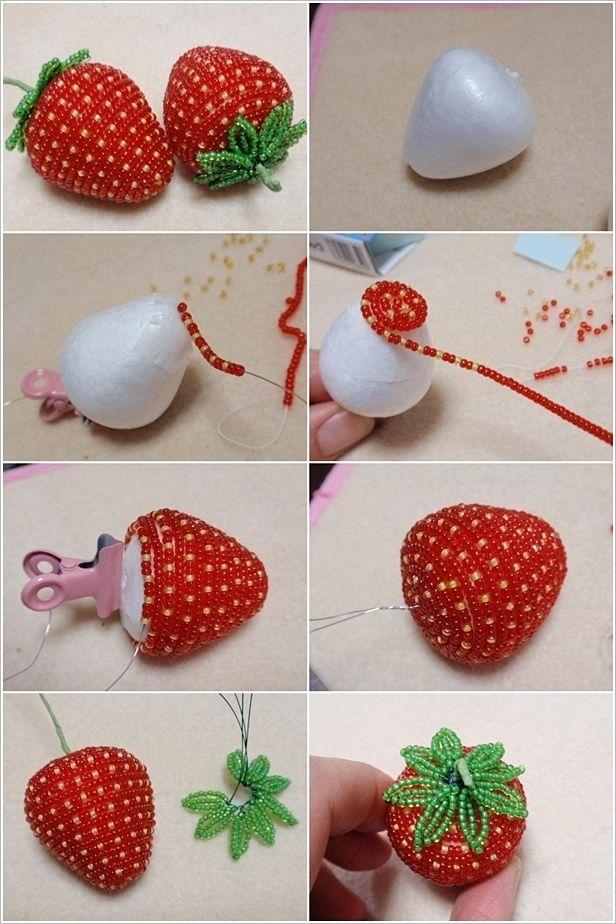 Strawberry Shortcake Party Crafts Ideas
