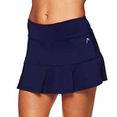 HEAD Womens Athletic Tennis Skort Performance Training /& Running Skirt Pleated Medieval Blue X-Small